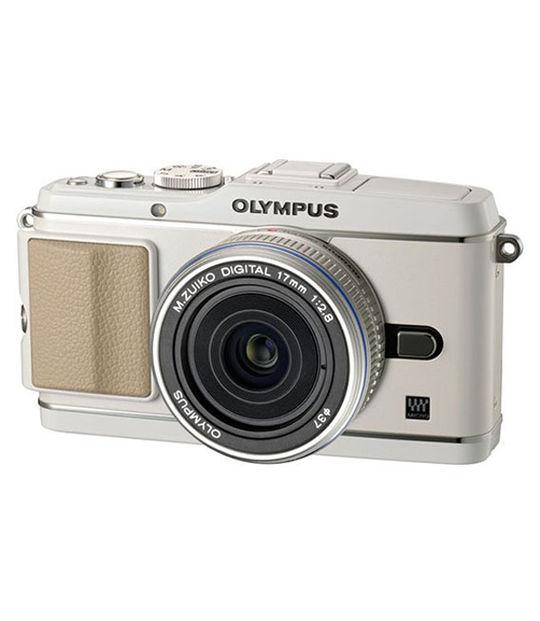 【中古】【安心保証】 ミラーレス>OLYMPUS PEN E-P3 レンズキット[ホワイト]