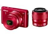 【中古】【安心保証】 Nikon ミラーレスデジタルカメラ Nikon 1 S2 ダブルズームキット