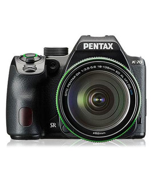 【中古】【安心保証】 一眼レフ>PENTAX K-70 18-135WR[ブラック]