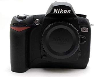 【中古】【安心保証】 NIKON 一眼レフデジタルカメラ D70本体