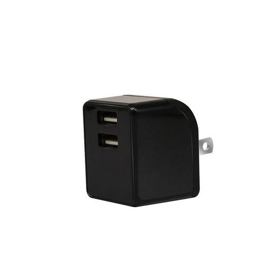 【新品】【GR】2ポートAC充電器 2.4A 2ACC01−24 BK/グラモラックス