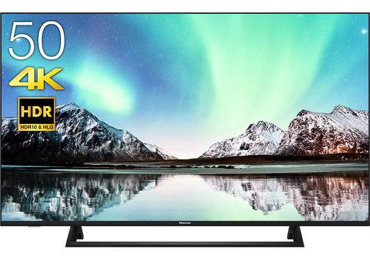 【新品】ハイセンス 4K/HDR対応50V型液晶テレビ 50E6000/ハイセンス
