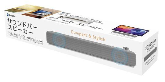 【新品】【GR】Bluetoothサウンドバースピーカー GY SPK-A18/グラモラックス