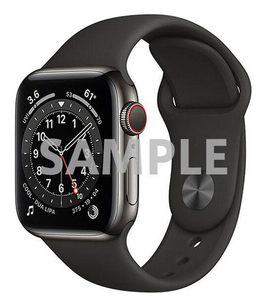 AppleWatch Series6 40mm GPS+Cellularモデル[ステンレススチール/グラファイト]