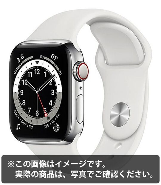 AppleWatch Edition Series6 40mm GPS+Cellularモデル[チタニウム/S]