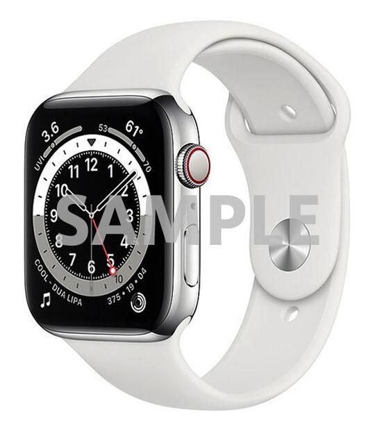 AppleWatch Series6 44mm GPS+Cellularモデル[ステンレススチール/シルバー]