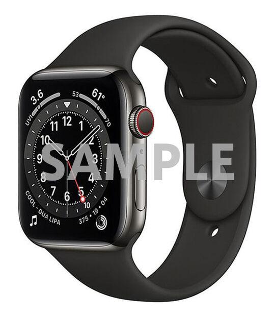 AppleWatch Series6 44mm GPS+Cellularモデル[ステンレススチール/グラファイト]