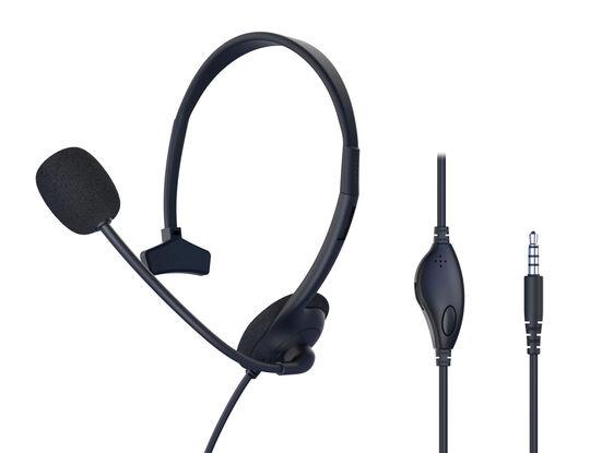 【新品】【GR】PC用ヘッドセット 片耳用 C431 BK/ゲオ