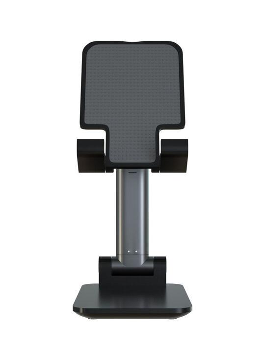 【新品】【GR】折りたたみ式スマホスタンド SMST−T100T1 BK/ゲオ