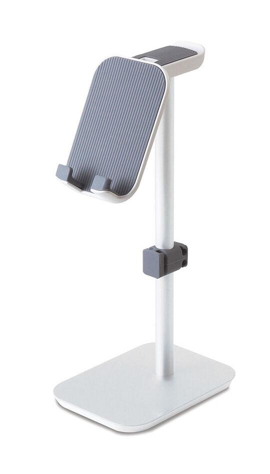 【新品】【GR】スマートフォン+ヘッドホンスタンド SMST−DA103 WH/ゲオ