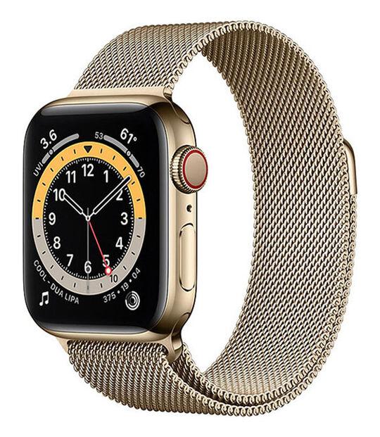 AppleWatch Series6 40mm GPS+Cellularモデル[ステンレススチール/ゴールド]